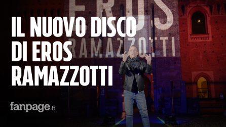 """Vita ce n'è sul pianeta Eros Ramazzotti: """"Canzoni belle, per un album dedicato a Pino Daniele"""""""