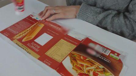 Come trasformare le scatole di pasta in qualcosa di utile per la tua casa