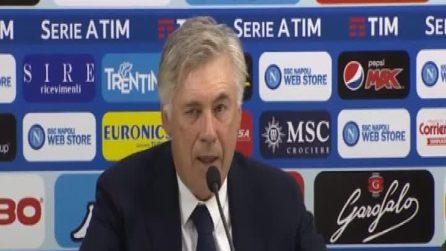 """Napoli, Ancelotti: """"Non perdo il sogno né il sonno"""""""