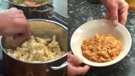 Pasta al cavolfiore cremosa: la ricetta per averla buonissima