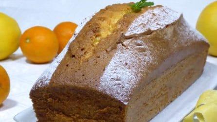 Plumcake all'olio: un dolce da colazione o da merenda, soffice e profumato