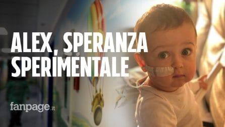 Il piccolo Alex sarà trasferito all'ospedale Bambino Gesù dove ha una speranza di guarire