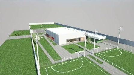 Caserma Boscariello, il progetto Scampia Sport Center