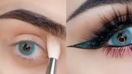 Come mettere l'eyeliner e le sopracciglia finte: la fantastica trasformazione finale