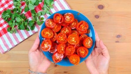 Come tagliare i pomodori in pochi secondi