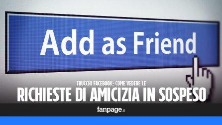 Trucchi Facebook: vedere le richieste d'amicizia in sospeso