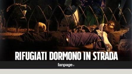 """Roma. Sgombero Indipendenza, ora i rifugiati dormono in strada: """"Non abbiamo più nulla"""""""