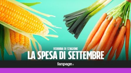 La verdura di stagione: cosa comprare a settembre