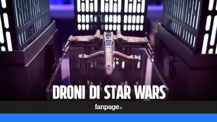 I droni di Star Wars per rivivere le battaglie spaziali nel giardino di casa