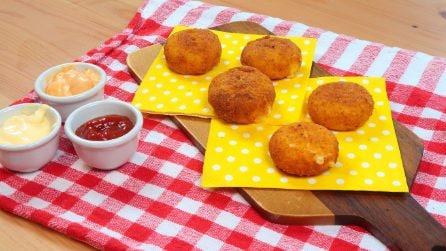 Formaggini impanati: la ricetta semplice e golosa