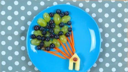 Frutta creativa: ecco come realizzare la casetta di Up