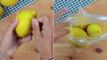 4 ways to store lemons