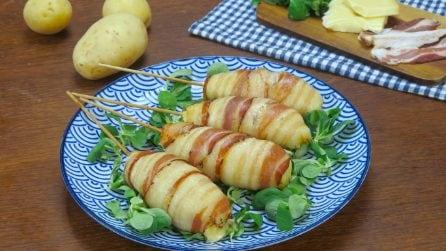 Spiedini di patate: la ricetta per una cena facile e gustosa!