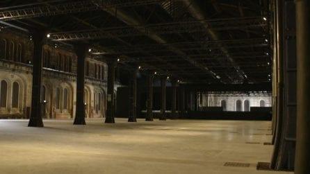 Torino, rinascono le OGR: spazio internazionale per arte e Hi-Tech