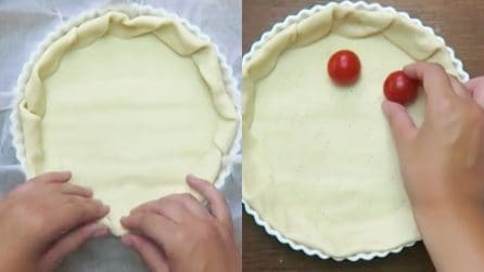 Caprese Pie: a savory pie that will leave your dinner guests speechless!