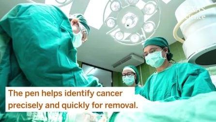 La penna MasSpec identifica i tumori in 10 secondi. È 150 volte più rapida dei metodi tradizionali