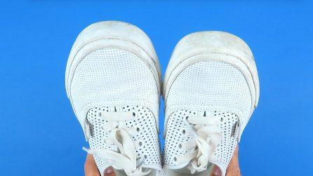 Come pulire le scarpe bianche: il trucchetto semplice e veloce
