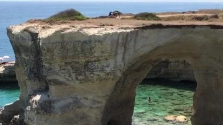 La magia del Salento: la meravigliosa spiaggia dei Faraglioni