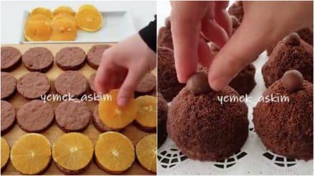 Pasticcini con dischetti di arancia e pan di spagna: un dessert facilissimo e goloso