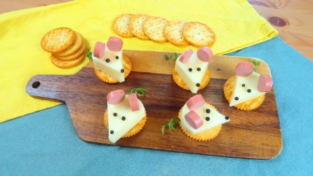 Mouse Shaped Cheese: the original idea for a tasty snack