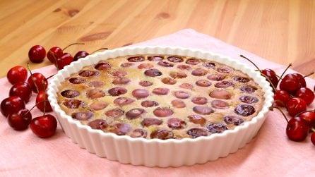 Clafoutis di ciliegie: il dolce che vi conquisterà!
