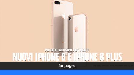 Iphone 8 e Iphone 8 Plus: tutte le novità