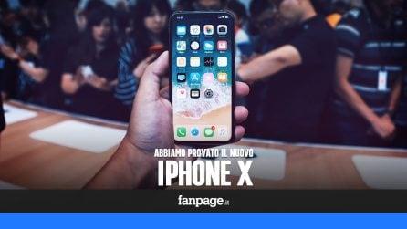 Abbiamo provato l'iPhone X: tutte le novità in 120 secondi