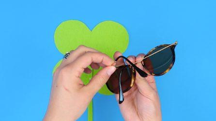 Come creare un porta occhiali per la tua borsa