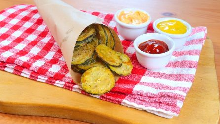 Oven-Baked Zucchini Chips: an easy and tasty recipe