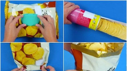 How to open a packet of crisps