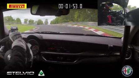 Alfa Romeo, il giro record della Stelvio Quadrifoglio al Nurburgring