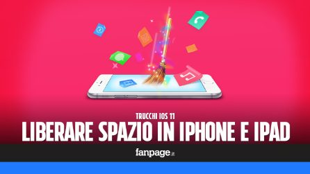 Come liberare spazio in iPhone e iPad con iOS 11