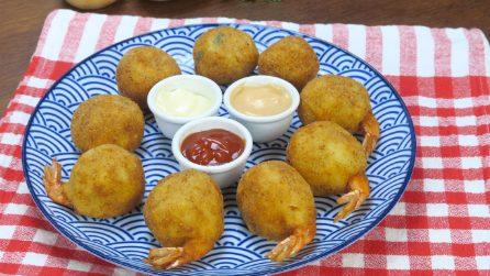 Palline di patate con gamberetto: vi verrà l'acquolina solo a guardare!