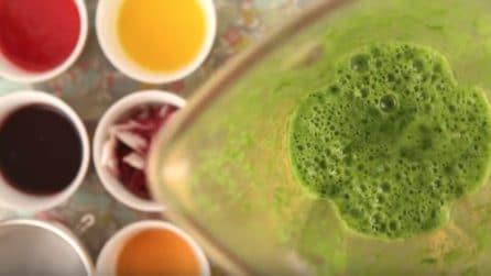 Ottiene i coloranti alimentari con un metodo naturale e sano
