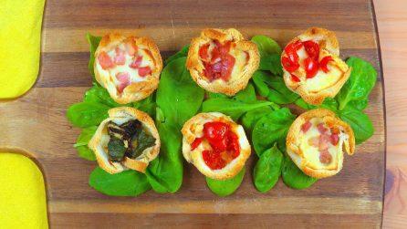 Cestini pancarrè: ecco come prepararli nella teglia per muffin