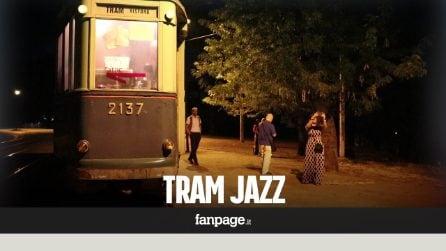 Tram jazz, una cena a lume di candela viaggiando per il centro di Roma