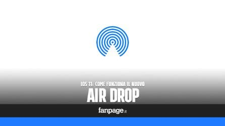 Come accedere ad AirDrop in iOS 11