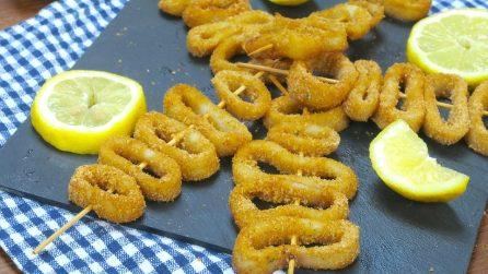 Spiedini di totani: la ricetta di pesce che vi delizierà!