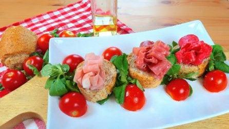 Fiori di prosciutto: la decorazione originale per un gustoso aperitivo