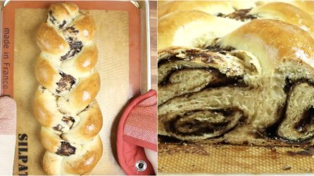 Chocolate Cinnamon Roll Challah
