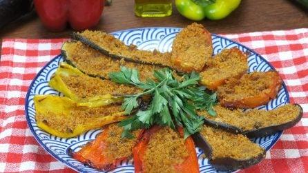 Verdure gratinate al forno: il contorno facile e saporito di cui non farete più a meno!