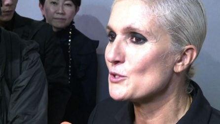 Dior, Maria Grazia Chiuri: Modelle magre? Alcune sono nate così