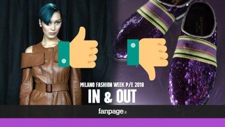 Milano Fashion Week P/E 18: IN e OUT alla Settimana della Moda