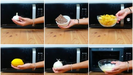 6 modi utili per usare il microonde