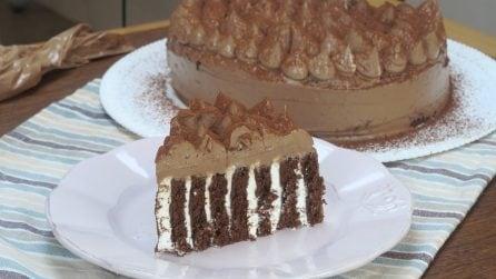 Ciocogirella, an alternative to the traditional Swiss roll cake!