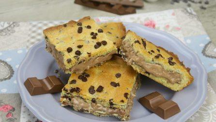 Crostata di barrette al cioccolato: l'idea golosa che piacerà a tutti!