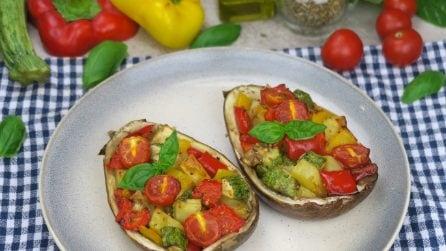 Melanzane ripiene vegetariane: l'idea per una cena leggera, ma saporita!