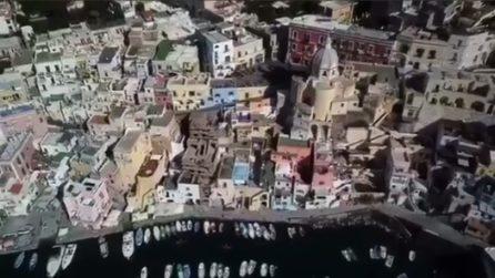 La bellissima Procida dall'alto: le spettacolari immagini dal drone