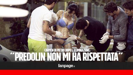 """Carmen Di Pietro dopo il GFVip: """"Indignata da Predolin, le donne vanno rispettate"""""""