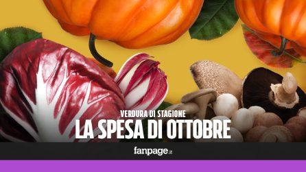 La verdura di stagione: cosa comprare a ottobre
